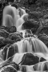 Cascade maudite (R - P Photography) Tags: longexposure blackandwhite nature water forest canon landscape waterfall eau noiretblanc waterfalls cascades paysage cascade fort poselongue canoneos6d canonef24105isl