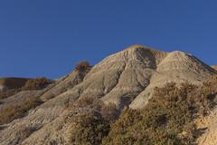 Clay slopes, Xatt l-Ahmar, Gozo (kurjuz) Tags: bluesky malta clay gozo slopes goldenlight xattlahmar