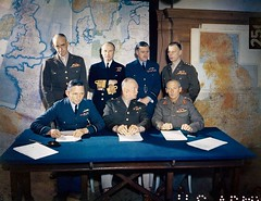 Meeting of the Supreme Command, Allied Expeditionary Force, London, 1 February 1944 Officers shown in photo are listed in comments. [3,914  3,023] #HistoryPorn #history #retro http://ift.tt/213lycJ (Histolines) Tags: 3 london history 1 photo force meeting retro timeline february command comments 023 1944 supreme listed shown 914 officers allied  vinatage expeditionary historyporn histolines httpifttt213lycj