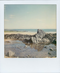 Rock pool (fedupwithdigital) Tags: elie i1 itype impossibleproject