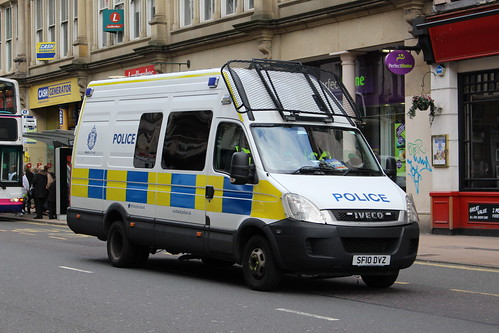 GLASGOW SF10 DVZ IVECO DAILEY POLICE SCOTLAND