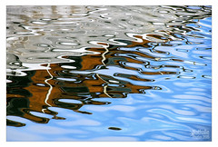 Water Painting (NathalieSt) Tags: reflection water port reflections eau reflet reflets reflectionslovers