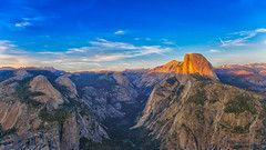 Half-Dome at sunset (super*dave) Tags: sunset yosemite halfdome glacierpoint yosemitevalley canon6d