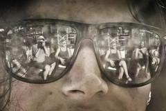 Riflessioni... (grigioscuro) Tags: primavera glasses riflessi occhiali reflexes sabaudia 2016 grigioscuro