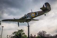 full scale model Hurricane  Windsor-4 (Da Capo Dance) Tags: ww2 fighter plane hurricane