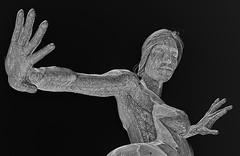 "Marco Cochrane's Statue ""Bliss Dance"" at The Park on the Las Vegas Strip (scattered1) Tags: park las vegas woman female dance stainlesssteel lasvegas expression steel nevada dancer nv strip marco strength bliss thepark stainless deja cochrane solis lasvegasstrip 2016 selfconfidence marcocochrane femalestrength femaleexpression dejasolis blissdance femaleselfconfidence"