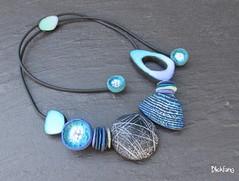 (Blickfang JM) Tags: necklace handmade polymerclay fimo clay workshop schmuck kette badhomburg halskette skinnerblend blickfang jewelrys bettinawelker