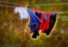 Laundry Day (HSS) (13skies) Tags: outside wind windy line cleaning clothes laundry hanging clothesline drying garments laundryday hss