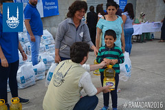 Ramadan food packages being distributed by Islamic Relief in Albania