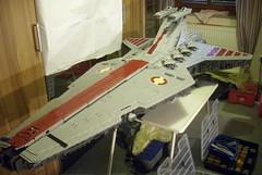 WIP UCS Venator Overview 2 | 18.06.16 (Commander Cloverleaf) Tags: star ship lego space craft destroyer wars venator