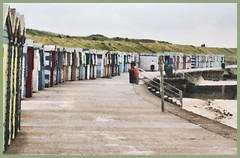 Minnis Bay beach huts (maf863) Tags: beach canon coast kent seaside beachhuts enlighten birchington minnisbay 700d canon700d