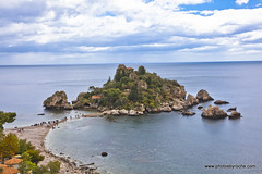 Isola Bella an island near Taormina (doveoggi) Tags: italy europe sicily isolabella 7184