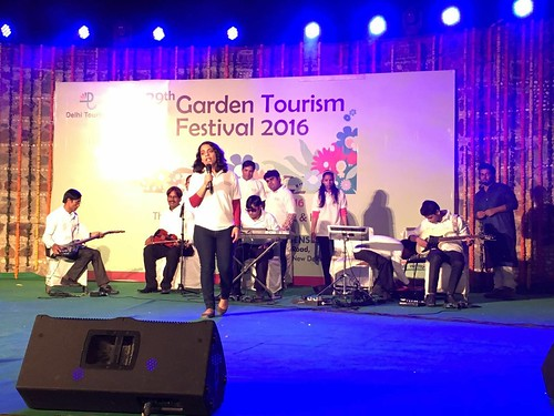 Garden Tourism Festival 2016: Neha, our founder, addressing the participants.