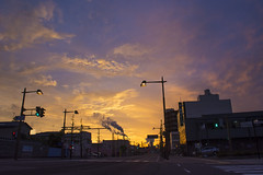 dawn (naoknd) Tags: morning sky dawn
