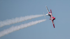 QIAS 2016 - Check Six! (Jay:Dee) Tags: 2016 qias quinte international air show airshow cfb canadian forces base trenton aviation aircraft airplane military jet trainer snowbirds 431 demonstration squadron aerobatics ct114 canadair tutor