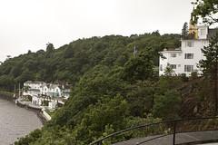 "20160620-UK Trip-Portmeirion & Aberystwyth-0006 (kuminiac) Tags: 2016 wales portmeirion village ""mediterranean village"" ""italian ""fantasy resort oceanside ""the prisoner"" aberystwyth ""national library wales"" library"" snowdonia cymru scenery mountains hillside hills mountain uk ""united kingdom"""