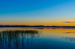 Lakescape sunset (ArtDvU) Tags: sunset summer lake finland landscape evening kiantajrvi lakescape sotkamo