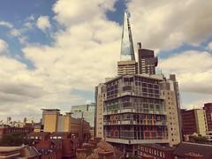 By Trina John (medwards1120) Tags: summer sky london skyline clouds centrallondon londonskyline theshard