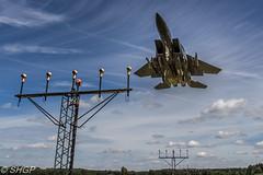 F-15E Strike Eagle, RAF Lakenheath (SHGP) Tags: cold plane eos war fighter force eagle aircraft aviation air united jet royal fast sigma strike states raf f15 lakenheath f15e caon f15c 18250mm 700d 150500mm