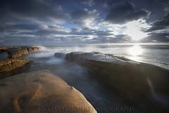 Afternoon Blues (sjs61) Tags: sjs61 steveskinnerphotography steveskinner surf seascape sunrays slowexposure hospitalsreef landscapes lajolla haidalittlestopper