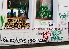 IMG_20160504_192654-2 (Cocomilie) Tags: wall graffiti anarchism nantes manifestation loitravail