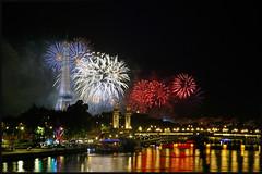 14 juillet 2016 (Scape) Tags: bridge paris france tower seine night river star day tour iii riviere eiffel firework reflet fete pont alexandre nuit bastille etoile feu artifice nationale