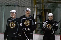 Trent Frederic, Wiley Sherman and Jake DeBrusk (Odie M) Tags: boston wilmington ristucciamemorialarena bostonbruins developmentcamp rookies 2016developmentcamp nhl hockey icehockey teamsport sport trentfrederic wileysherman jakedebrusk