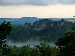 Nach den Gewitter (isajachevalier) Tags: gamrig knigstein schsischeschweiz elbsandsteingebirge landschaft natur nebel sachsen panasonicdmcfz150