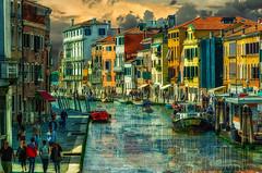 Venecia (Uxo Rivas) Tags: venecia venezia italia italy canale barcos agua