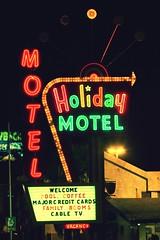 That's the Way That the World Goes Round (Thomas Hawk) Tags: usa unitedstates holidayhouse holidaymotel motel holidayhousemotel clarkcounty unitedstatesofamerica nevada neon vegas lasvegas fav10 fav25 fav50