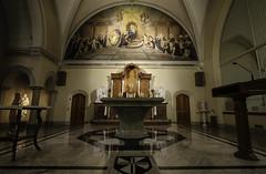 Buffalo Monastery Chapel (Lawrence OP) Tags: dominican nuns monastery buffalo ny eucharist adoration altar sanctuary mural apse