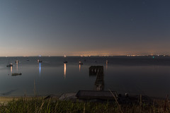 DSE_3209 (alfiow) Tags: moon moonlit pier totland