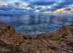 Sunset at Sunset Cliffs (BrianMoranHDR) Tags: sunsetcliffsnaturalpark sunsetcliffs sunset ocean pacificocean sandiego california nature waves sky clouds cliffs oceanbeach canon5dmarkii canon1740mml digitalphotoprofessional niksoftware google viveza2 colorefexpro4 silverefexpro2 topazlabs denoise5 adobephotoshopcreativecloud hdrsoft photomatixpro513