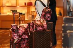 louis vuitton.. (europeanasian) Tags: louisvuitton designer handbags bellagio lasvegas luggage