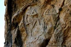 Rock Relief of Naram-Sin, Darband-i-Gawr (Sumer and Akkad!) Tags: naramsin qaradagh mountain darbandigawr sulaymaniyah kurdistan iraq mesopotamia rockrelief relief warrior enemy lulubi akkad akkadianperiod