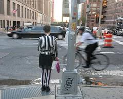 Tuesday Colours - Stripes Forever (Pushapoze) Tags: newyorkcity 9thavenue stripes