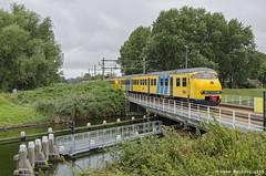 NSM 876 + NSR 469 + 466 + 449, Arnemuiden 17-09-16 (Dave Nijhuis) Tags: ns nederlandse spoorwegen nsr mat 64 plan v 400 449 466 469 nsm spoorweg museum 800 876 proefrit 828202 vlissingen eindhoven zeeuwse lijn arnemuiden zeeland
