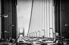 The Bridge (Alex Chilli) Tags: mono blackandwhite bridge goldengate sanfrancisco california bay
