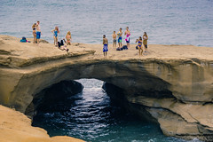 All Eyes (axi11a) Tags: lasocal losangeles sandiego lajolla cliffs sunsetcliffs kids cliffdiving arch lagoon beach swimming summer travel ocean
