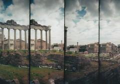 (Costruirecollego) Tags: rome fororomano romanforum ancient ancientrome archeology archeologia lomo lomography lomographyfilm supersampler film 35mm travelling travel architecture ruins