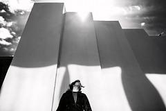 Black&White (Lkonyukhova) Tags: backround sun street streetphotographer streetphoto man boy people light dark mix day