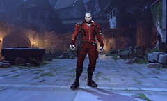 Overwatch - Soldier: 76, Halloween skin (JamesGoblin) Tags: blizzard arena moba multiplayer pvp spooky trickortreat costume skin halloween overwatch online gaming games game screenshot soldier76 immortal