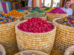 Potpourri (DoodleBugNZ) Tags: morocco colour market marrakech spice abundance choice collection colors food drink sale freshness healthy eating large group stall merchandise multi colored potpourri red retail sack business variation vegetable