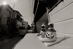/ The Usual Post (Takeshi Nishio) Tags: nikonf100  fujiacros100 o56 ei100  16mmfisheye   spd1120deg65min filmno802