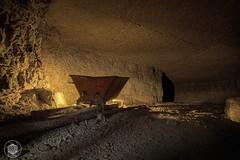 Old Minire W (Urbex Diary) Tags: old urban canon underground lost mine place w r mk2 5d cave exploration industrie ue urbex petromax minire ledlenser