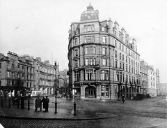 Mathers Hotel (Dundee City Archives) Tags: street old architecture buildings hotel design 1930s dock photos dundee south union victorian crescent tay flats shops housing whitehall tenements malmaison mathers