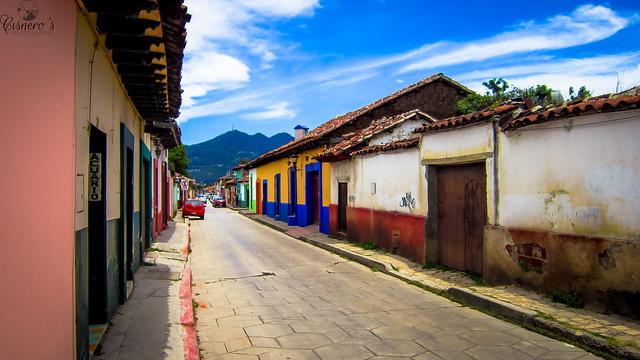 Calles de colores