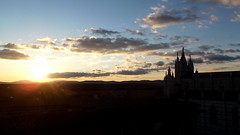 Sienna Silhouetted (Tom Owen Abingdon) Tags: sunset sky italy architecture clouds rooftops cathedral dusk sienna colourful