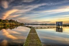 Miroir (Sandra 25) Tags: morning color nature water pond nikon eau belgium belgique couleur matin et