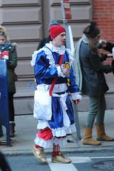 bloody mummer (pompomflipflop) Tags: philadelphia parade newyears mummers 2015